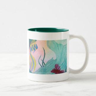 Mermaid Tail & Fish Mug