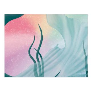 Mermaid Tail Postcard