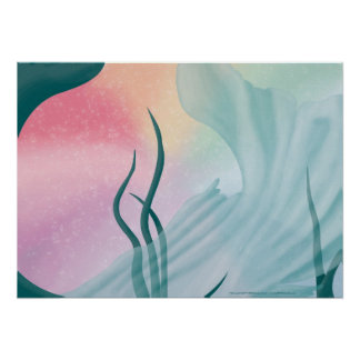 Mermaid Tail Print