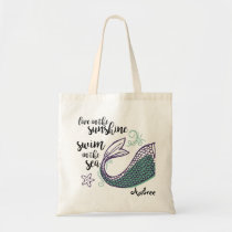 Mermaid Tail Tote