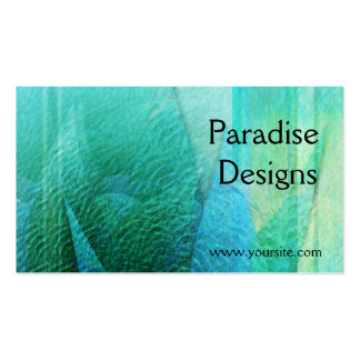 Mermaid Tails Abstract 1 Business Card Templates