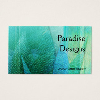 Mermaid Tails Abstract 1 Business Card