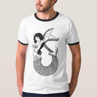 Mermaid Tattoo Illustration T-Shirt