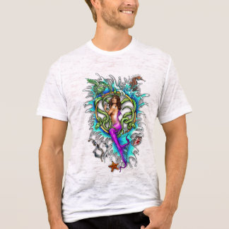 Mermaid Tattoo T-Shirt