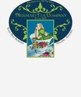 Mermaid Tea Co. Logo Tee
