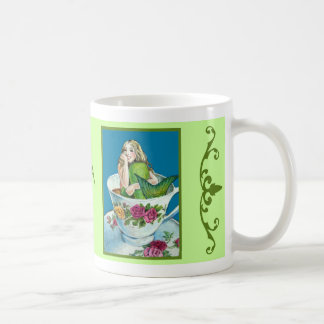 Mermaid Tea I Mug (green version)