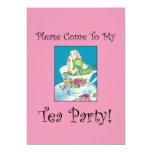"Mermaid Tea Party Invitations 5"" X 7"" Invitation Card"