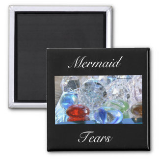 Mermaid Tears 2 Inch Square Magnet