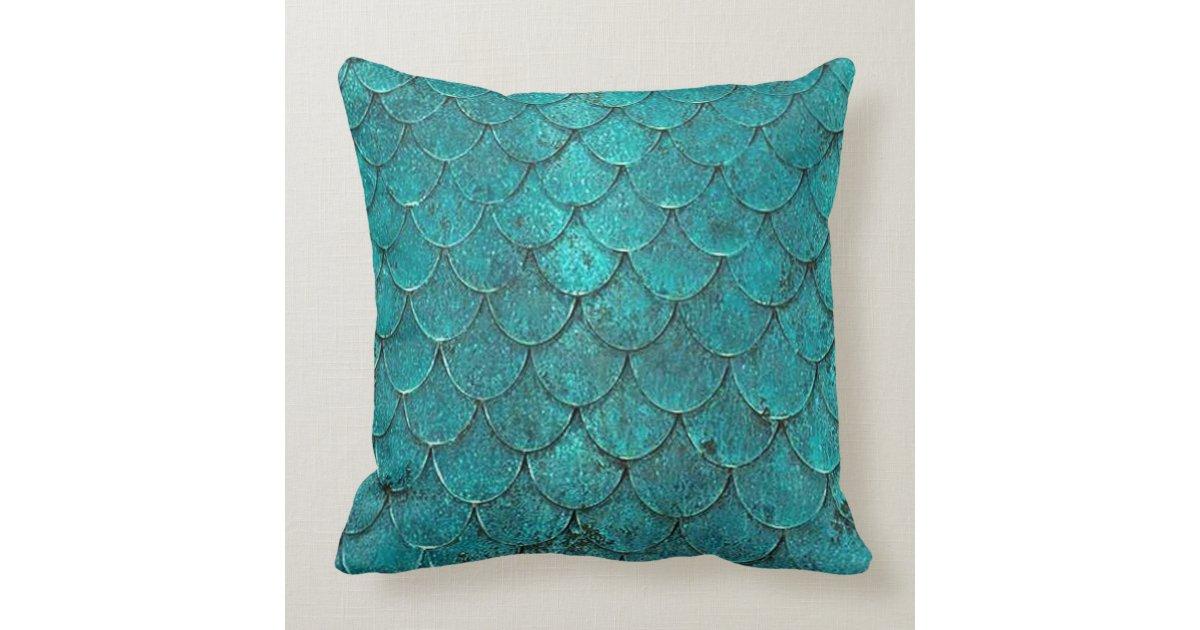 Mermaid Decorative Pillows : mermaid throw pillow Zazzle
