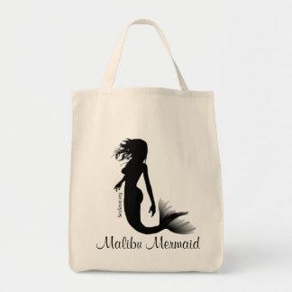 Mermaid Tote Bag White