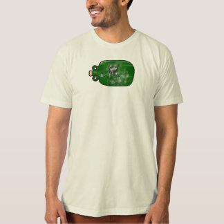 mermaid traditionally tattooed trapped in bottle T-Shirt