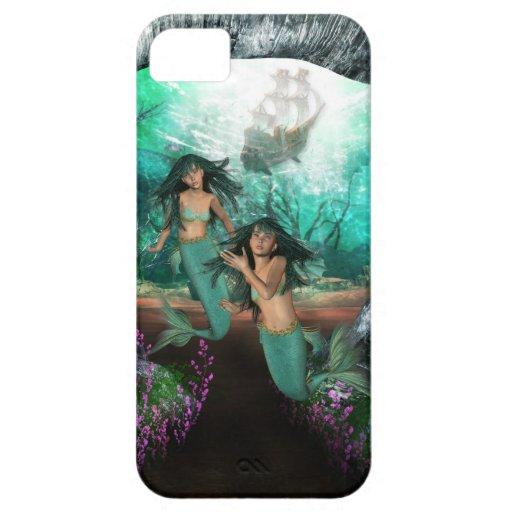 Mermaid Twins Blackberry Bold Case