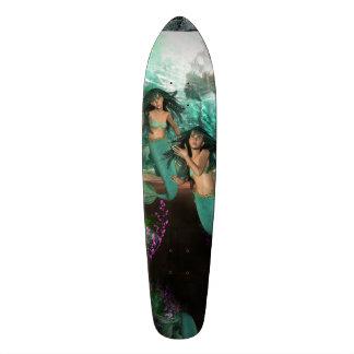 Mermaid Twins Skate Decks