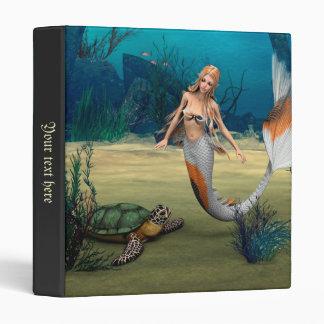 Mermaid und Turtle Binder