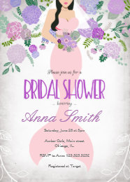 Under the sea bridal shower invitations announcements zazzle mermaid under the sea bridal shower invite filmwisefo Images