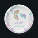 "Mermaid Under The Sea Paper Plate 7&quot; Paper Plates<br><div class=""desc"">Mermaid Under The Sea 7&quot; Paper Plate. 