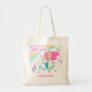 Mermaid & Unicorn Tote Bag