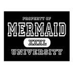 Mermaid University Dark Postcards