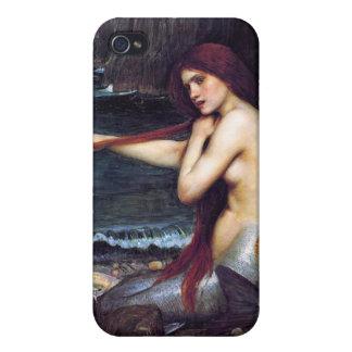 Mermaid Vintage Pre-Raphaelite  iPhone 4 Case