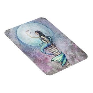 Mermaid Vinyl Magnet