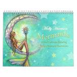 Mermaid Wall Calendar by Molly Harrison
