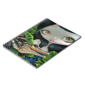 """Mermaid with a Baby Alligator"" Notebook"