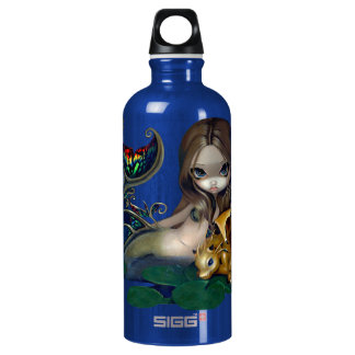 """""""Mermaid with a Golden Dragon"""" Bottle"""