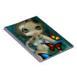 """""""Mermaid with Butterflies"""" Notebook"""