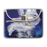 "Mermaid with Dolphin  13"" MacBook Sleeve Sleeves For MacBook Pro"