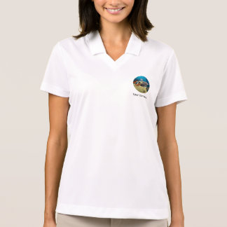 Mermaid with Dolphin Polo Shirt
