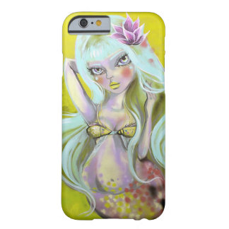 Mermaid with kissing fish top barely there iPhone 6 case