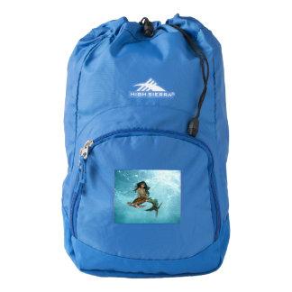 Mermaid with Sea Turtle Backpack