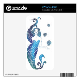 Mermaide Skin For The iPhone 4S