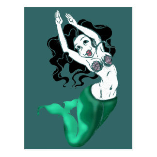 Mermaiden Postcard