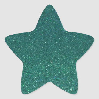 MermaidGreen Star Sticker