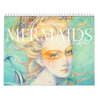 MERMAIDS 2016 Calendar by Sara Burrier
