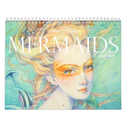 MERMAIDS 2016 Calendar by Sara Burrier
