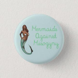 Mermaids Against Misogyny (version 1) Pinback Button