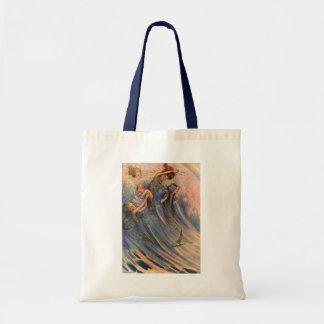 Mermaids and Babies Tote Bag