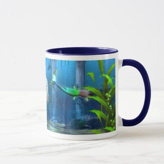 Mermaids At Play Mug