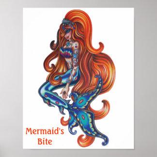 Mermaid's Bite Logo Poster