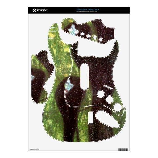 Mermaids by Gustav Klimt Rock Band Guitar Skin