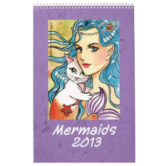 Mermaids  Calendar