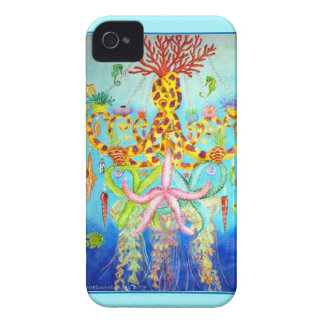 Mermaid's Chandelier iPhone 4 Case-Mate Cases