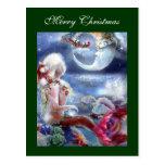 Mermaid's Christmas Eve Postcard