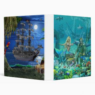 Mermaid's Coral Reef Treasure Binder