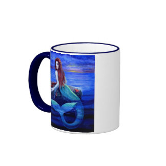 Mermaid's Dinner Coffee Mugs