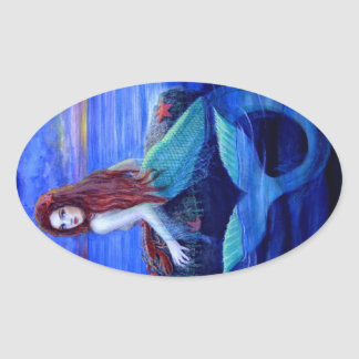 Mermaid's Dinner Sticker