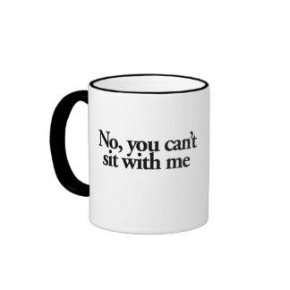 Mermaids don't have thigh gaps ringer coffee mug