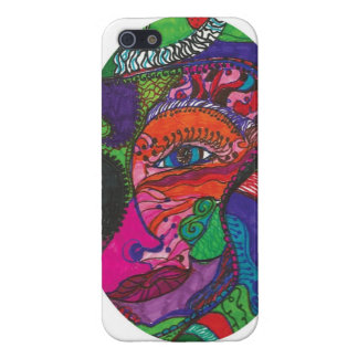 Mermaids , faces, whimsy, tattoo, iPhone SE/5/5s cover